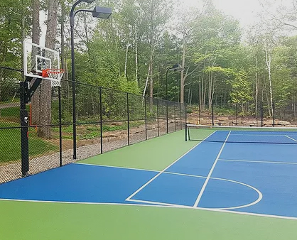 Multisports courts